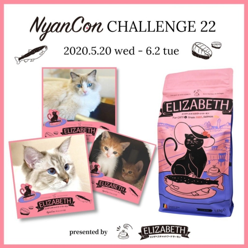 NyanCon CHALLENGE 22 presented by エリザベスキャットフード